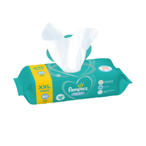 Pampers Fresh Clean Törlőkendő 12x 80 db