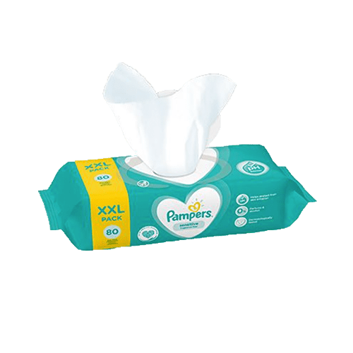 Pampers Sensitive Törlőkendő 12x 80 db