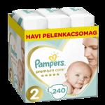 Pampers Premium Care Nadrágpelenka 2-es méret (4-8 kg) 240 db - Havi pelenkacsomag